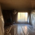 one day no mess popcorn ceiling removal